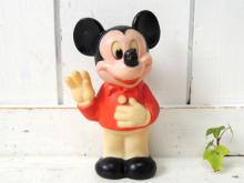 【1978's・ミッキーマウス】Mickey Mouse・ヴィンテージ・ラバードール・人形・TOY